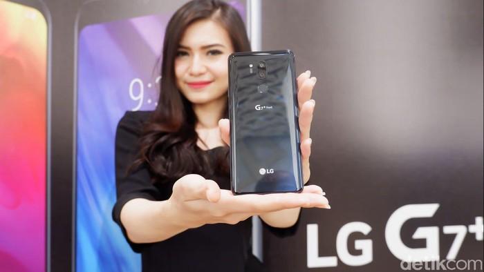 Ponsel LG G7 ThinQ. Foto: detikINET/Adi Fida Rahman