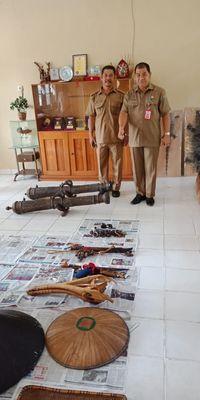 Dua Mandau Sakral, Tambah Koleksi Museum Balanga Kalteng