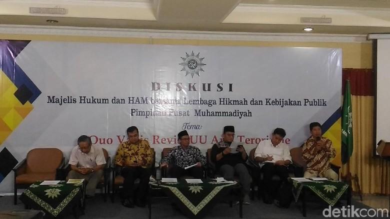 Muhammadiyah Ingin Ada Tim Pengawas Pelaksanaan UU Antiterorisme