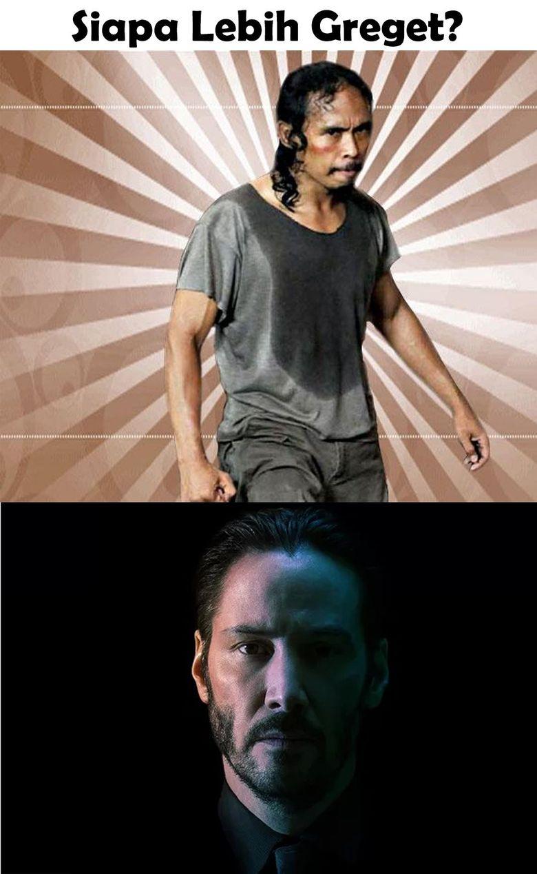 Banyak yang menanti pertarungan super greget antara Yayan Ruhian dengan Keanu Reeves yang berperan sebagai John Wick.Dok. Ist