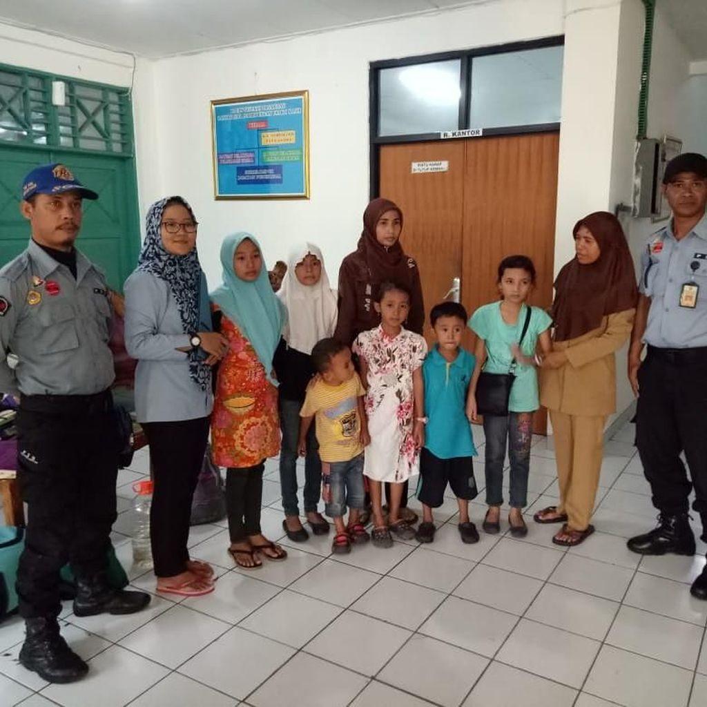 Terpisah dari Suami, Zamirah dan 6 Anaknya Sempat Dikira Teroris