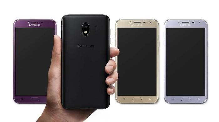 Galaxy J4. Foto: Samsung