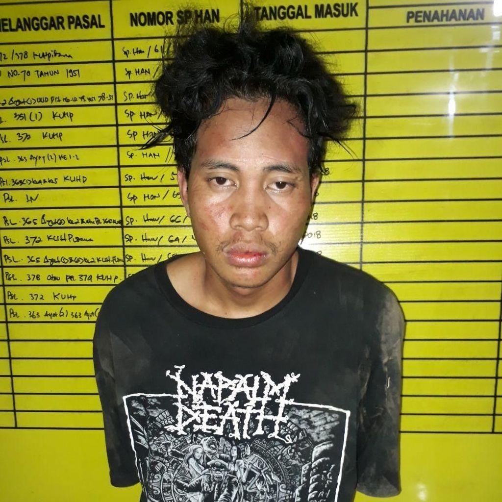 DPO Penganiaya dengan Busur Ditangkap di Makassar