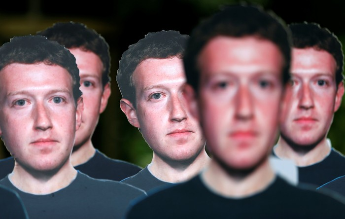 Sosok Mark Zuckerberg. Foto: Reuters