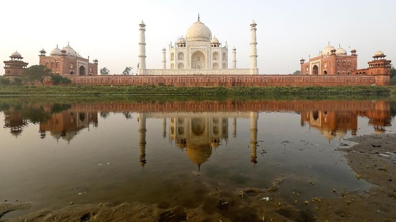 Ilustrasi Taj Mahal India (Istimewa)