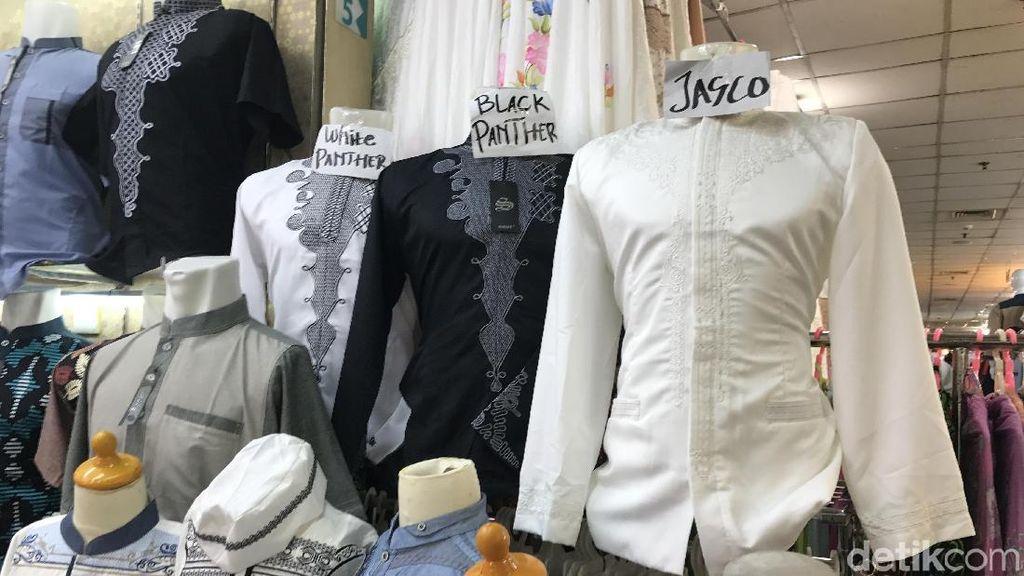 Baju Koko Black Panther Favorit untuk Lebaran, Sehari Terjual Ratusan Potong