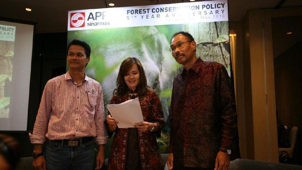 Komitmen APP Sinar Mas Capai Bebas Deforestasi Hutan