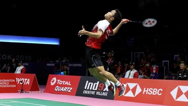 Anthony Dikalahkan Chen Long, Indonesia Tertinggal 0-1 dari China
