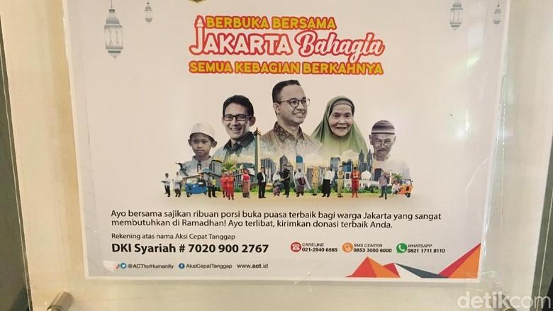 Bukber Warga Butuh Rp 35 M, Pemprov DKI Sediakan Kotak Amal