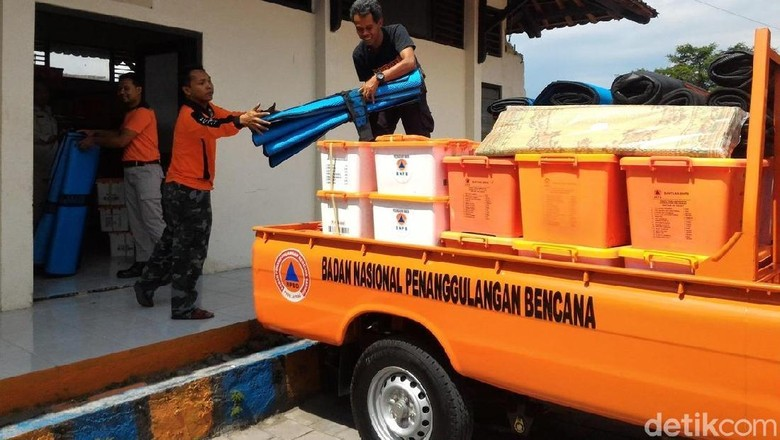 BPBD Jateng Kirim Logistik Pengungsi di Boyolali