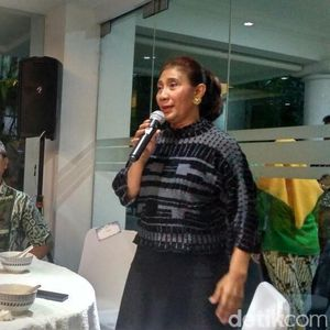 Menteri hingga Bos BUMN Hadir di Acara Halalbihalal Susi