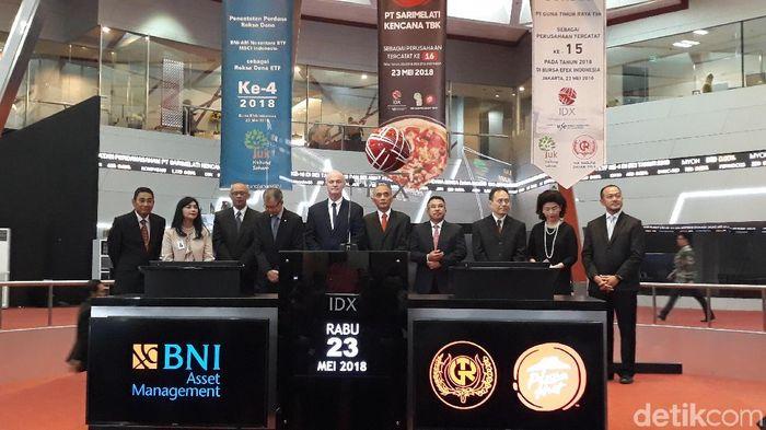 IPO Pizza Hut dan TRUK/Foto: Danang Sugianto-detikFinance