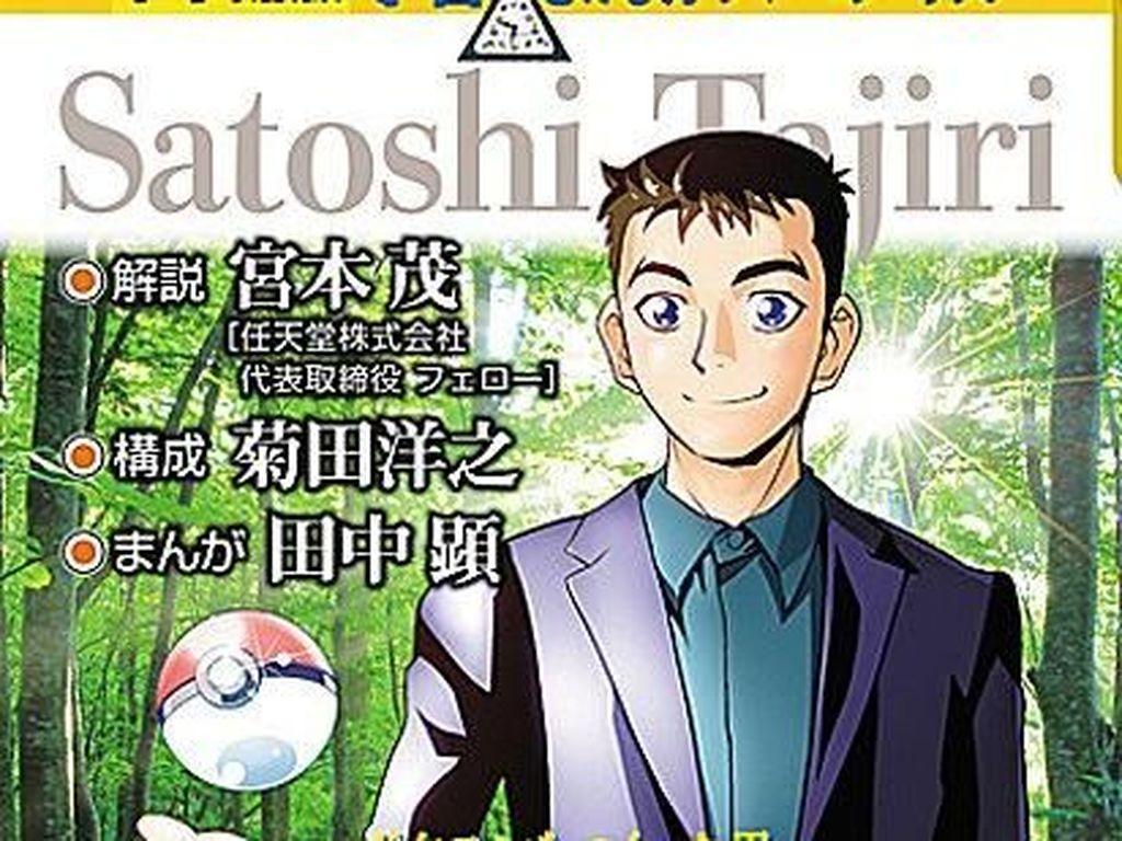 Manga Ini Ceritakan Kisah Hidup Pencipta Pokemon