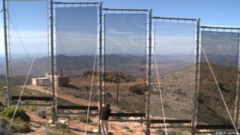 Maroko Menyulap Kabut Jadi Air