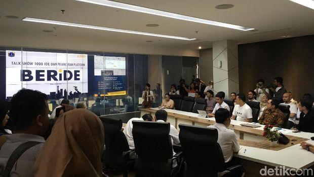 Sandi Luncurkan Jakarta 'BERiDE' untuk Tampung Ide Kreatif Warga