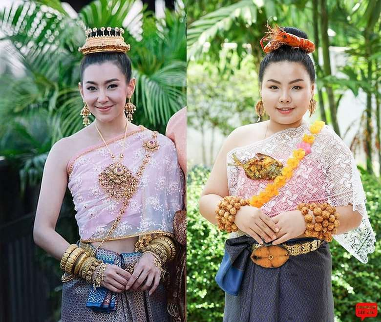Baju Adat Thailand