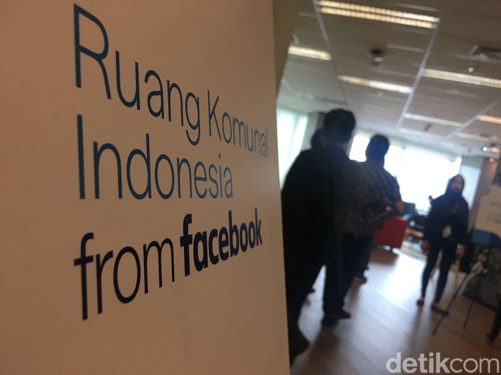 Facebook mengklaim kalauRuang Komunal yang dihadirkannya kali ini merupakan yang pertama di dunia.Foto: detikINET/Agus Tri Haryanto