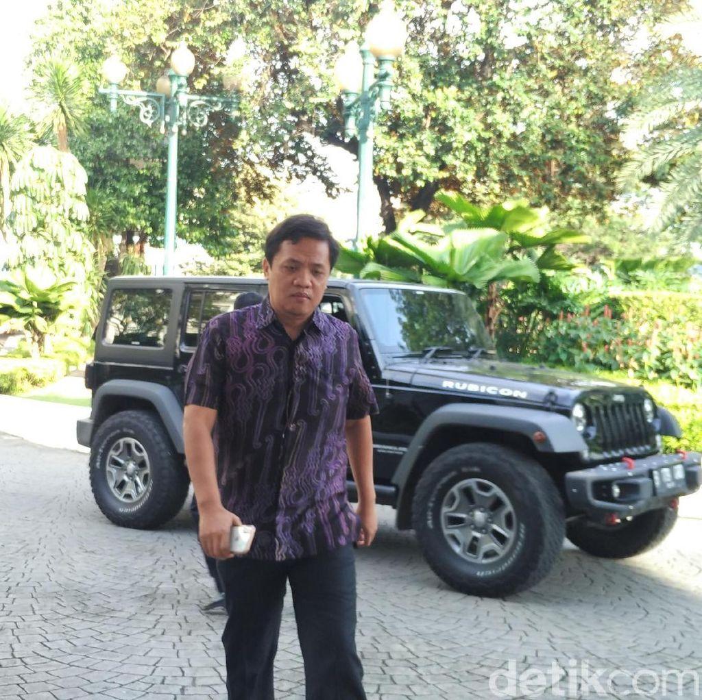 Habiburokhman Sambangi Sandi ke Balai Kota