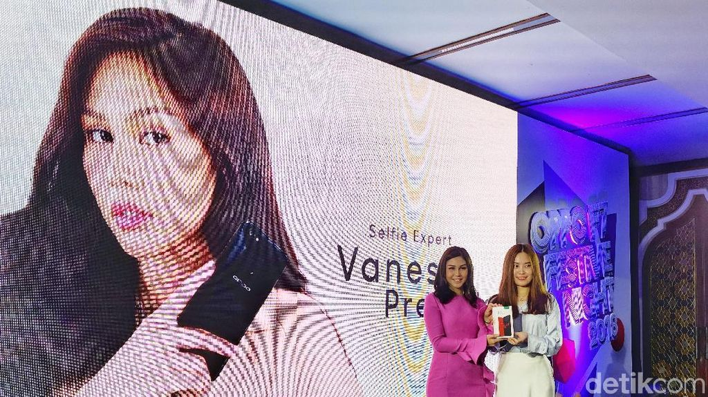 Vanesha Prescilla Jadi Ambasador Oppo