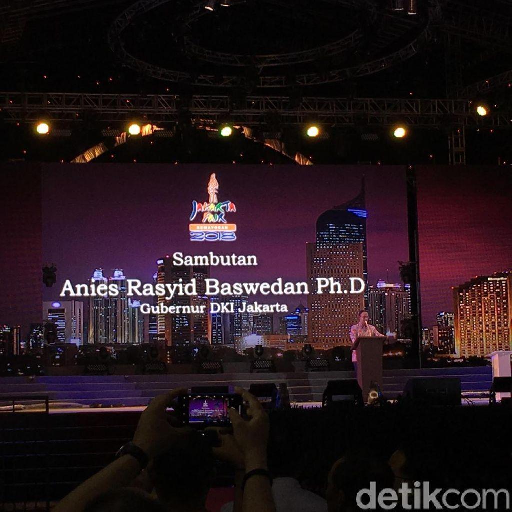 Buka Jakarta Fair 2018, Anies: DKI Aman dan Stabil