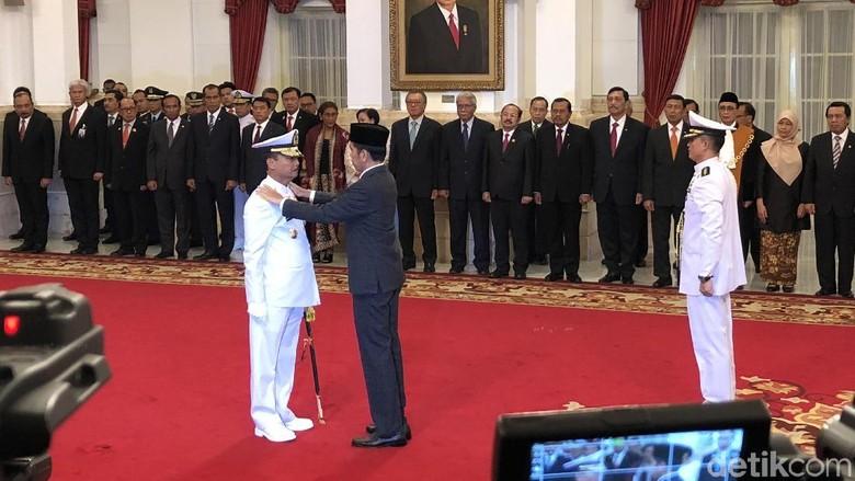 Jokowi Lantik Siwi Sukma Adji Jadi KSAL Gantikan Ade Supandi