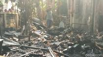 Berawal dari Bakar Sampah, Satu Rumah Ludes Terbakar di Solo