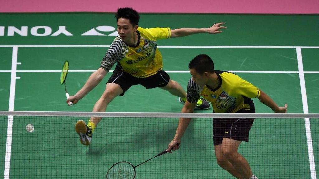 Kevin/Marcus Menang, Indonesia vs Malaysia Imbang 1-1