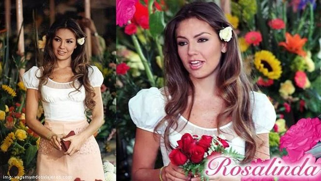 Pesona Ariadna Thalia Sodi Miranda Pemeran Telenovela Rosalinda