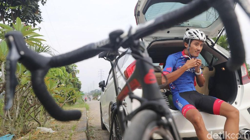 Aiman Cahyadi Jodoh pun Berkat Cinlok di Pelatnas Balap Sepeda