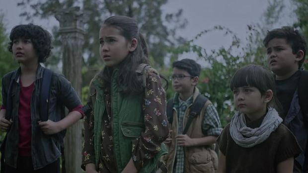 Anak-anak yang nekat di 'Kuntilanak.'
