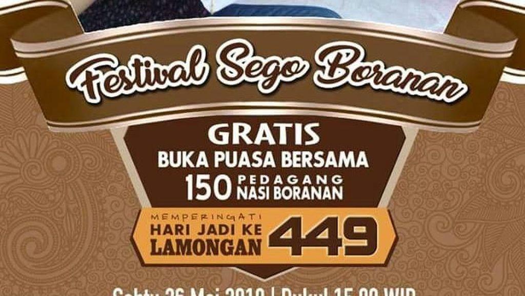 Ada Meme Bukber Nasi Boranan Gratis di Lamongan, Bener Nggak Sih?