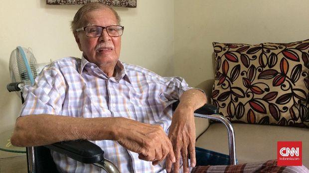Alwi Shahab, wartawan senior sekaligus sejarawan dan tetangga Ismail Marzuki.