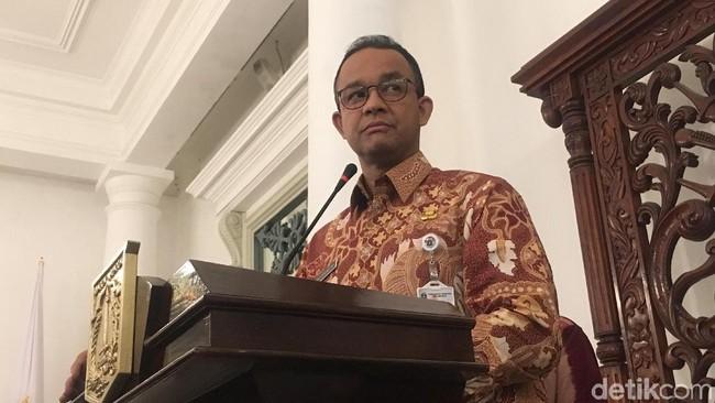 Gubernur DKI Jakarta Anies Baswedan/Foto: Indra Komara/detikcom