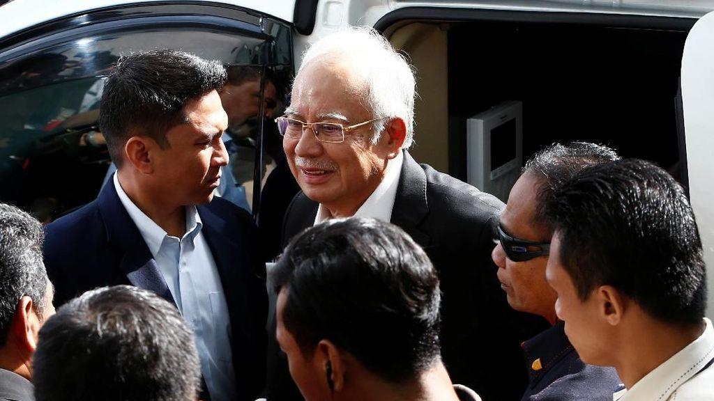 Najib Kembali Ditanyai Komisi Antikorupsi Terkait Skandal 1MDB