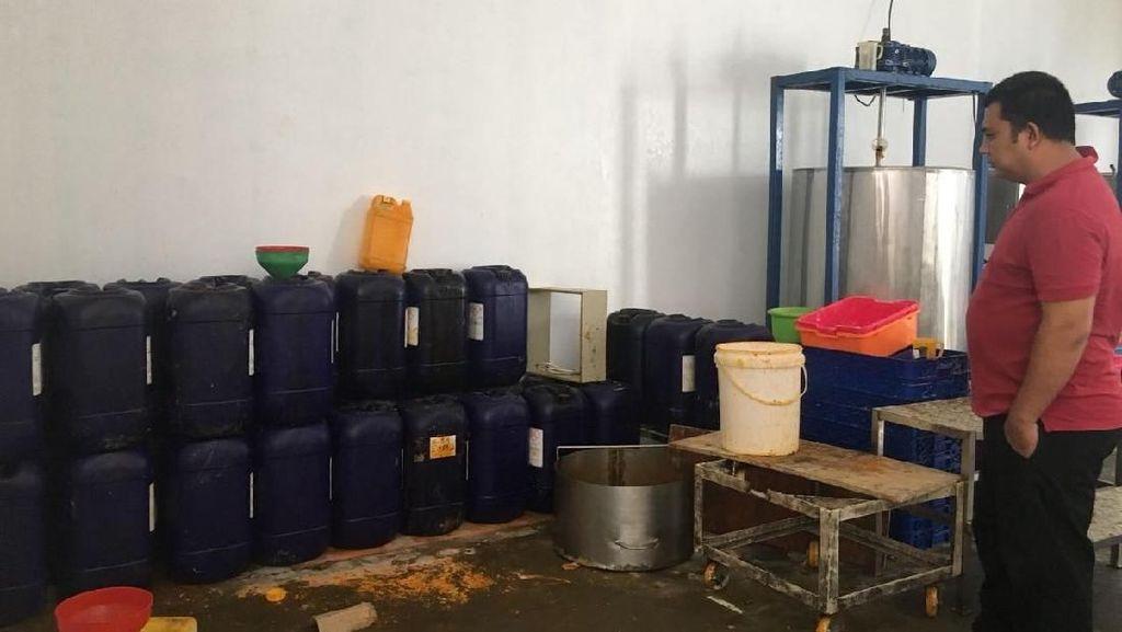 BPOM dan Polisi Gerebek Pabrik Sabun Kecantikan di Tangerang