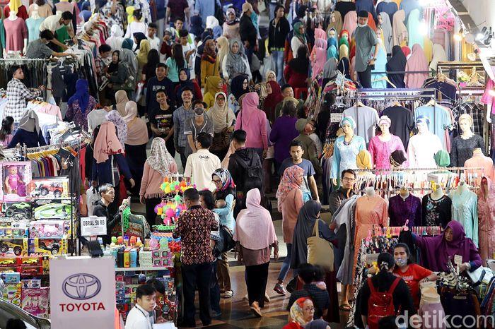 Begini penampakan Pasar Tanah Abang, Jakarta, Kamis (24/5/2018).