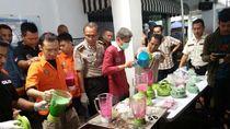 240 Kg Sabu di Mesin Cuci Dimusnahkan