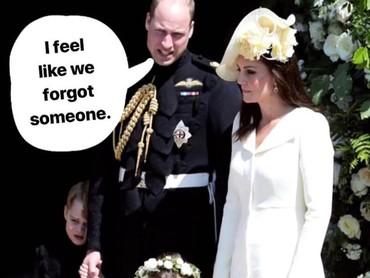 Saat pernikahan Pangeran Harry dan Meghan Markle beberapa waktu lalu, Pangeran William dan Kate hadir dengan kedua anaknya. Tapi si kecil Pangeran Louis tidak diajak serta karena masih terlalu kecil. Jadi wajar sih seandainya orang tua yang baru punya bayi merasa seperti melupakan sesuatu saat berjam-jam berjauhan dari bayinya.(Foto: Instagram @averageproblems)