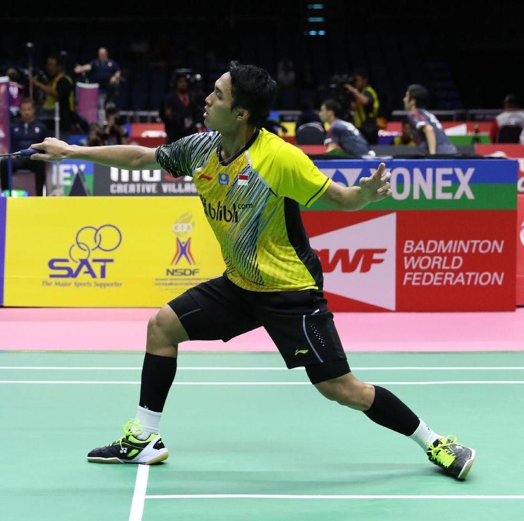 Sesal Jonatan Gagal Sumbangkan Poin di Semifinal Piala Thomas 2018