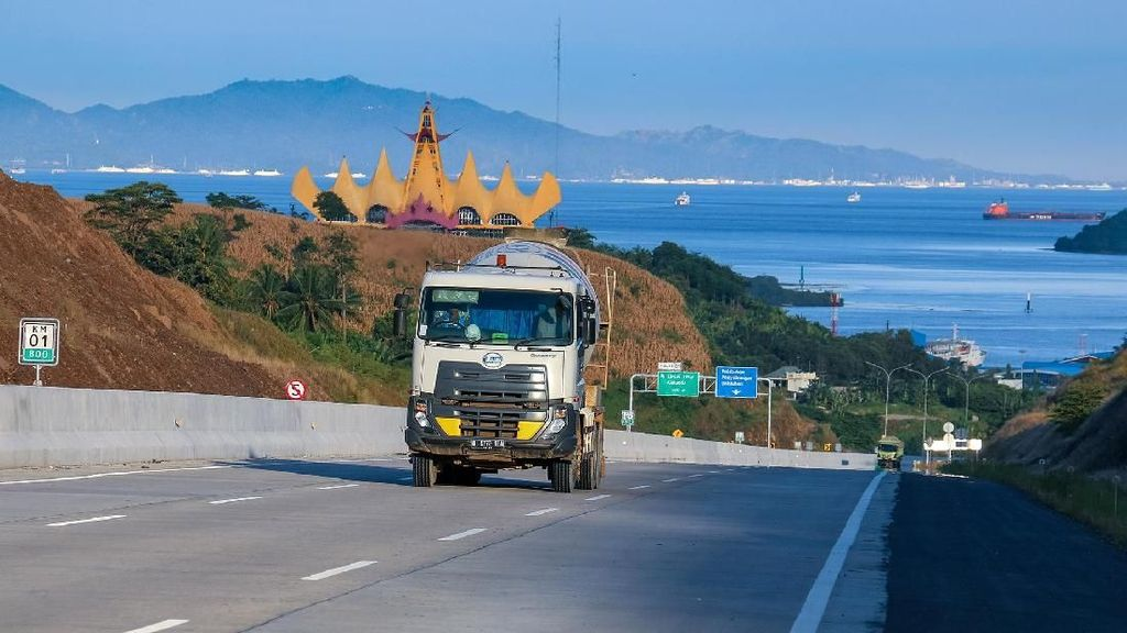 Melihat Gerbang Masuk Tol Trans Sumatera dari Atas Laut