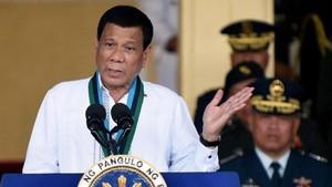 Duterte Ancam Bunuh Puluhan Polisi Filipina Pelaku Kriminal