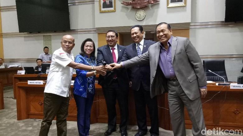Fadli Zon Lantik Erma Ranik Jadi Wakil Ketua Komisi III