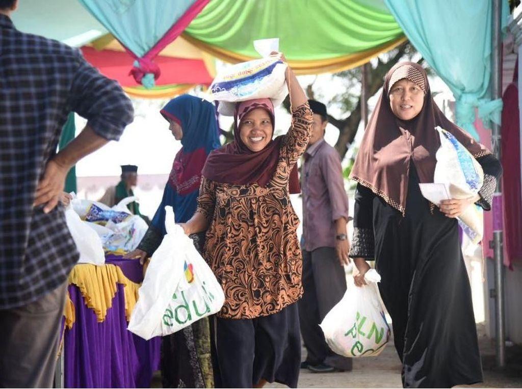 20 Ribu Warga Kurang Mampu di Jabodetabek Dapat Bantuan Sembako