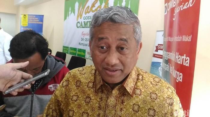 Mantan Mendikbud Muhammad Nuh (Samsudhuha WIldansyah/detikcom)