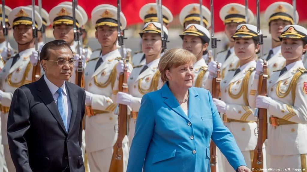 Angela Merkel Ingin Tingkatkan Hubungan Dagang Jerman-Cina