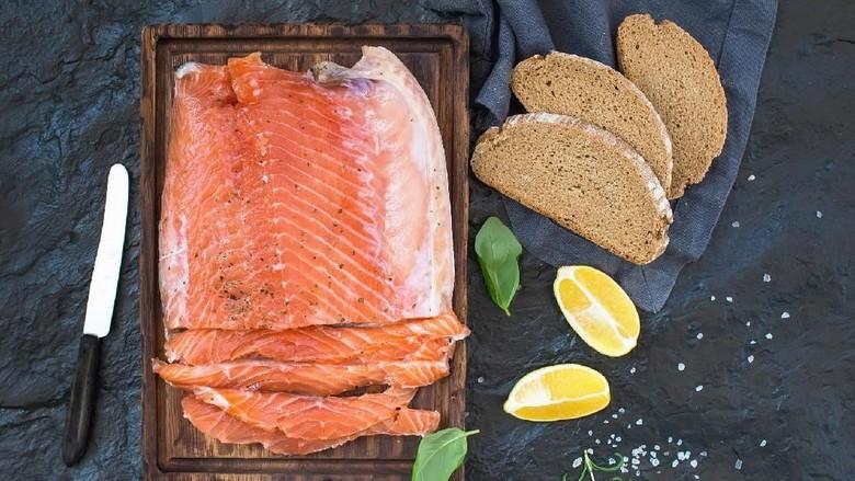 Ilustrasi menu salmon/Foto: ilustrasi/thinkstock