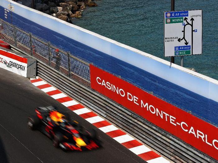 Daniel Ricciardo tercepat di Fp2 GP Monako (Getty Images)