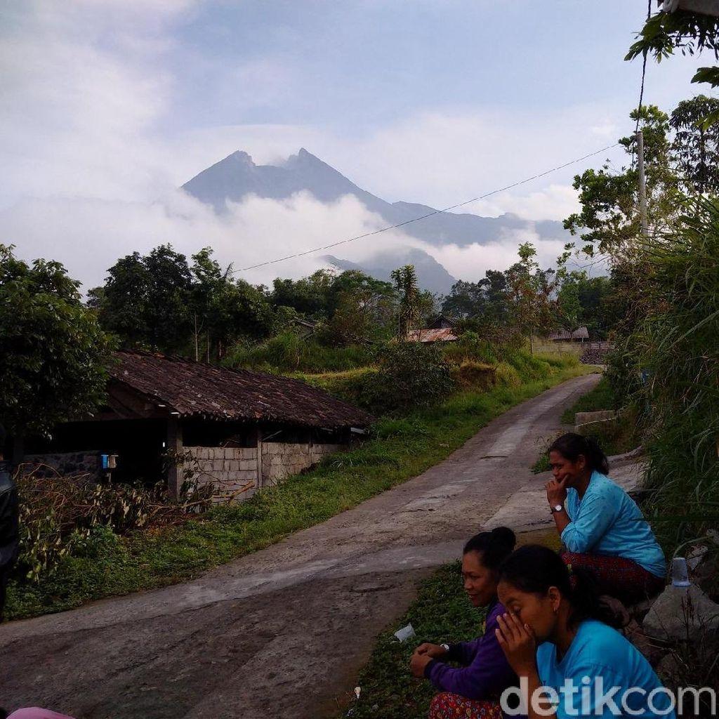 Melihat Kalitengah Lor, Dusun Tertinggi di Merapi Sleman