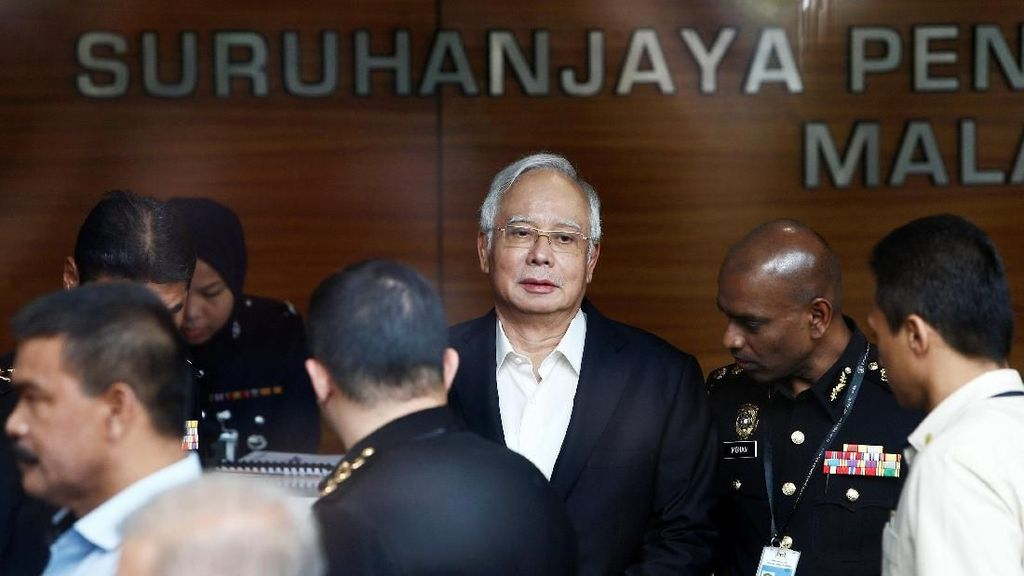 Malaysia Geber Pemeriksaan Najib