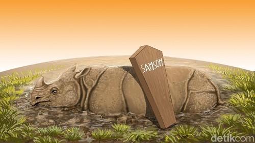 Siang-Malam Menjaga Kuburan Samson